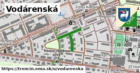 ilustrácia k Vodárenská, Trenčín - 228m