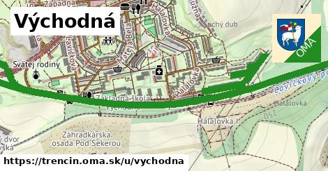 ilustračný obrázok k Východná, Trenčín