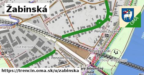ilustrácia k Žabinská, Trenčín - 699m