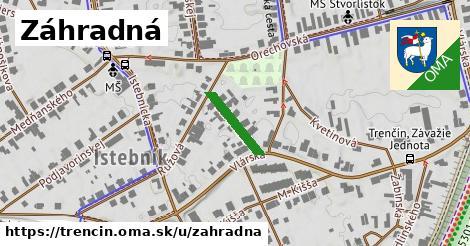 ilustrácia k Záhradná, Trenčín - 125m