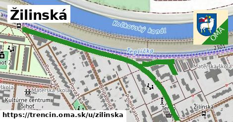 ilustrácia k Žilinská, Trenčín - 604m