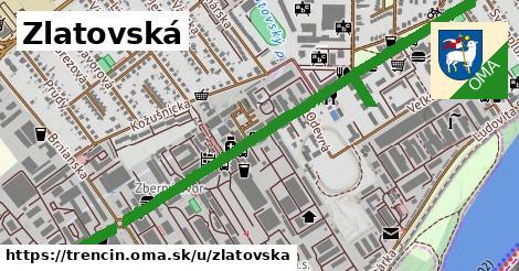 ilustračný obrázok k Zlatovská, Trenčín