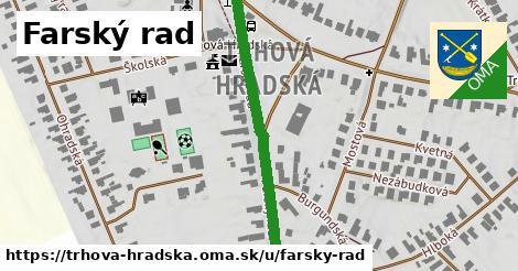 ilustračný obrázok k Farský rad, Trhová Hradská