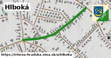 ilustrácia k Hlboká, Trhová Hradská - 504m