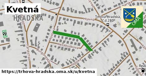 ilustrácia k Kvetná, Trhová Hradská - 229m