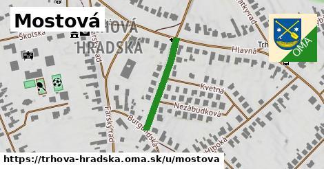 ilustrácia k Mostová, Trhová Hradská - 182m