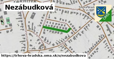 ilustrácia k Nezábudková, Trhová Hradská - 197m