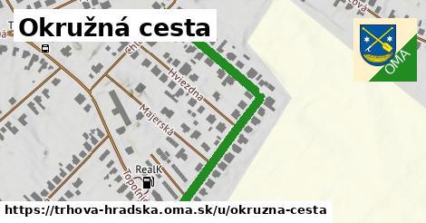 ilustrácia k Okružná cesta, Trhová Hradská - 509m