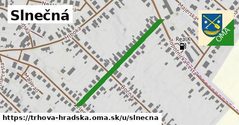 ilustrácia k Slnečná, Trhová Hradská - 378m