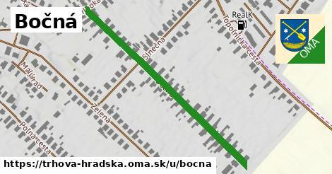 ilustrácia k Bočná, Trhová Hradská - 500m