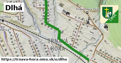 ilustrácia k Dlhá, Trnavá Hora - 576m