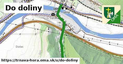 ilustrácia k Do doliny, Trnavá Hora - 0,76km