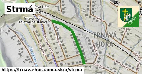 ilustrácia k Strmá, Trnavá Hora - 307m
