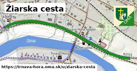 ilustrácia k Žiarska cesta, Trnavá Hora - 0,72km