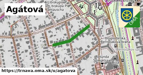 ilustrácia k Agátová, Trnava - 221m