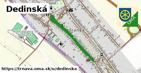 ilustrácia k Dedinská, Trnava - 0,73km
