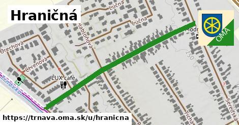 ilustrácia k Hraničná, Trnava - 591m