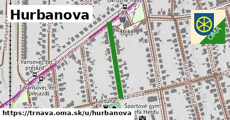 ilustračný obrázok k Hurbanova, Trnava