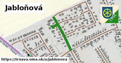ilustrácia k Jabloňová, Trnava - 291m