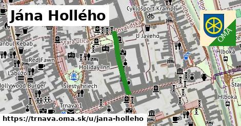 ilustrácia k Jána Hollého, Trnava - 203m