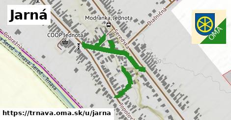 ilustrácia k Jarná, Trnava - 416m