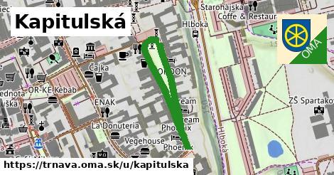 ilustrácia k Kapitulská, Trnava - 500m