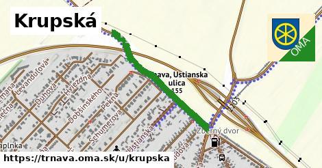 ilustrácia k Krupská, Trnava - 3,4km