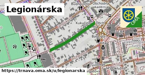 ilustrácia k Legionárska, Trnava - 273m
