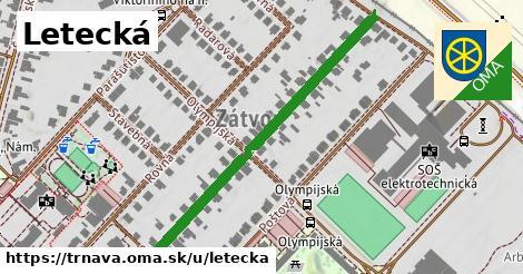 ilustrácia k Letecká, Trnava - 475m