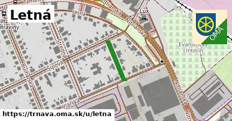 ilustrácia k Letná, Trnava - 142m