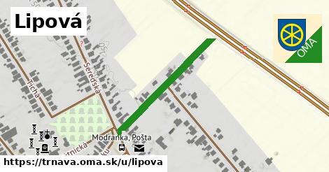 ilustrácia k Lipová, Trnava - 302m
