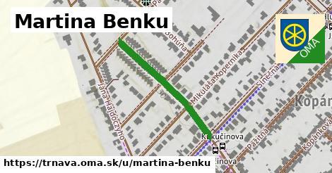 ilustrácia k Martina Benku, Trnava - 296m