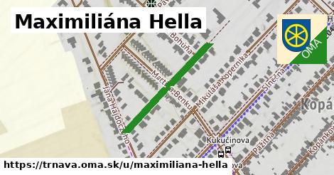 ilustračný obrázok k Maximiliána Hella, Trnava