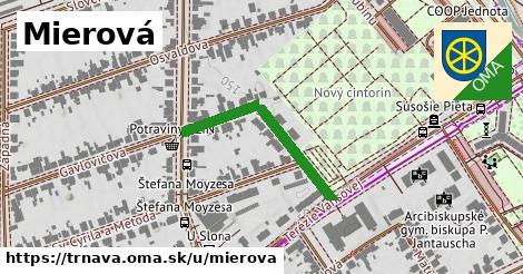 ilustrácia k Mierová, Trnava - 288m