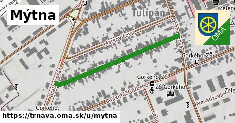 ilustrácia k Mýtna, Trnava - 434m