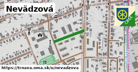 ilustrácia k Nevädzová, Trnava - 179m