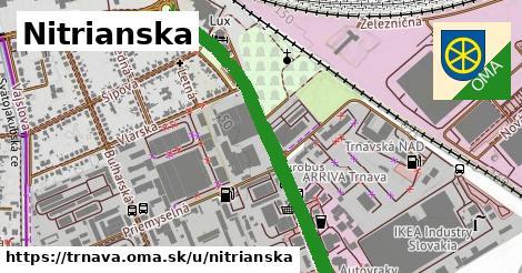 ilustrácia k Nitrianska, Trnava - 1,87km