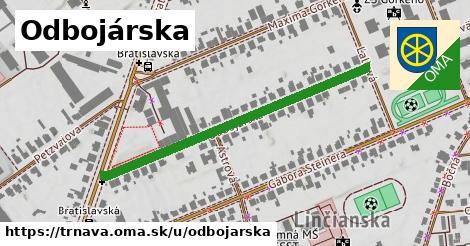 ilustrácia k Odbojárska, Trnava - 465m