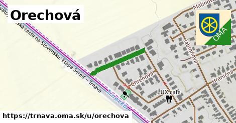 ilustrácia k Orechová, Trnava - 186m