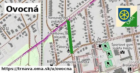 ilustrácia k Ovocná, Trnava - 183m