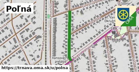 ilustrácia k Poľná, Trnava - 270m