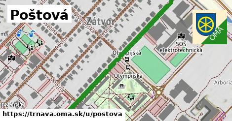 ilustrácia k Poštová, Trnava - 608m