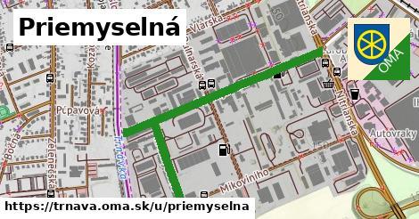 ilustrácia k Priemyselná, Trnava - 1,03km