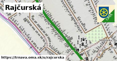 ilustrácia k Rajčurská, Trnava - 480m