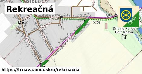 ilustrácia k Rekreačná, Trnava - 280m