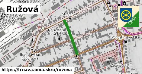 ilustrácia k Ružová, Trnava - 198m