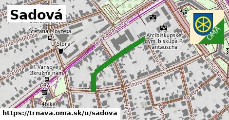 ilustračný obrázok k Sadová, Trnava