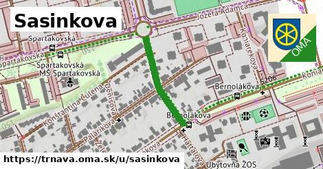 ilustrácia k Sasinkova, Trnava - 244m