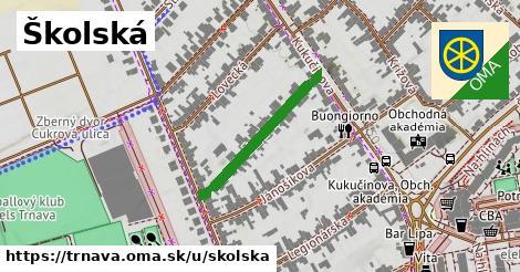ilustrácia k Školská, Trnava - 248m