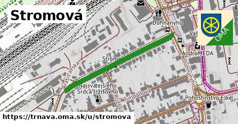 ilustrácia k Stromová, Trnava - 388m